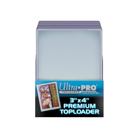 Ultra Pro Premium 3x4 Toploaders New top loaders