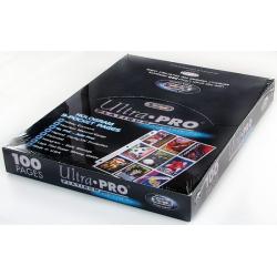 Ultra Pro Platinum Series Hologram 9-Pocket Pages (100)