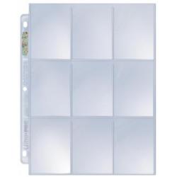 Ultra Pro Platinum Series Hologram 9-Pocket Pages (10)