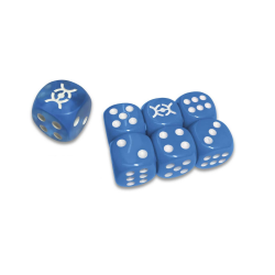 Evolutions Blue Dice