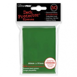 Ultra Pro Solid Standard Deck Protector - Green
