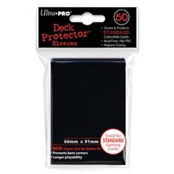 Ultra Pro Solid Standard Deck Protector - Raven Black