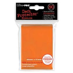 Ultra Pro Solid Standard Deck Protector - Orange