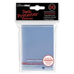 Ultra Pro Solid Standard Deck Protector - Clear