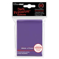 Ultra Pro Solid Standard Deck Protector - Purple