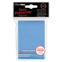 Ultra Pro Solid Standard Deck Protector - Light Blue