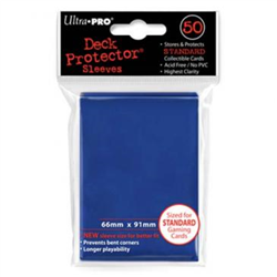 Ultra Pro Solid Standard Deck Protector - Blue